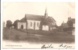 89 - Environs De JOIGNY - L'Eglise De Looze. - Joigny