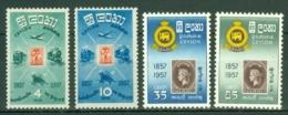 Ceylon: 1957   First Ceylon Postage Stamp Centenary   MH - Sri Lanka (Ceylon) (1948-...)