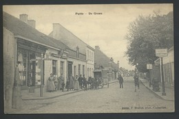 PUTTE * DE GRENS * FOTO F. HOELEN CAPELLEN * VERSTUURD AUGUSTUS 1914 * 2 SCANS - Putte