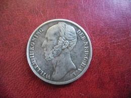 PAYS BAS - HOLLANDE - 1 GULDEN ARGENT De 1847 Poids 10 Grammes Pour 28 Mm -  Guillaume II Nederland @ KM# 66 - [ 3] 1815-… : Kingdom Of The Netherlands