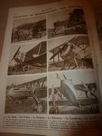 1918 LE MIROIR:Avions Spad,Voisin,Bréguet,Salmson,Caudron,Letord,Friedricchshafen Et AEG Bomb;Les Cloches;Les ARDITI;etc - Revues & Journaux