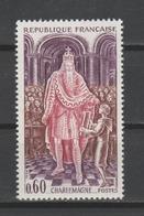 "FRANCE / 1966 / Y&T N° 1497 ** : ""Histoire De France"" (Charlemagne) - Gomme D'origine Intacte - Neufs"