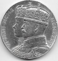 Grande Bretagne - Jubilée Georges V & Mary - 1935 - Argent - Royal/Of Nobility