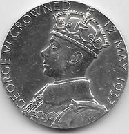 Grande Bretagne - Queen Elizabeth 12 May 1937 - Argent - Royaux/De Noblesse