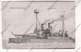 CPA Marine Française : L'Indomptable - Guerra
