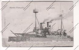 CPA Marine Française : L'Indomptable - Warships