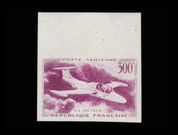 FRANCE Poste Aérienne  Yvert: 35 Essai En Lilas, Bdf: Morane-Saulnier 760 - Essais