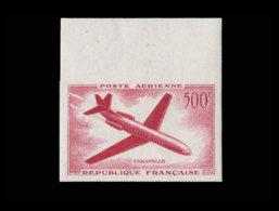 FRANCE Poste Aérienne  Yvert: 36 Essai En Carmin, Bdf: Caravelle - Essais