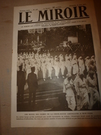 1918 LE MIROIR:US Women Red Cross New-York (Croix Rouge Américaine); Retz;Corcy;PARIS Bombardé;Verneuil;Gotha;etc - Revues & Journaux