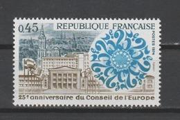 FRANCE / 1974 / Y&T N° 1792 ** : Conseil De L'Europe - Gomme D'origine Intacte - Francia