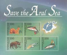 2002 Tajikistan  Save The Aral Sea Sheet Of 5 MNH - Tadjikistan