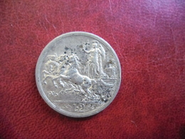 ITALIE LOT 4 Monnaies ARGENT 50 C 1863 M ; 1 Lire 1863 M : 1 Lire 1901 R Et 2 Lire 1916 R @ Vittorio Emanuele II Et III - 1861-1946 : Royaume