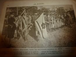 1918 LE MIROIR: Boy-Scouts Japonais;Aviateur Madon;Trieste;Torpillage Du TIJUCA;Médecins Suisses à HOLZMINDEN;Grèce;etc - Magazines & Papers