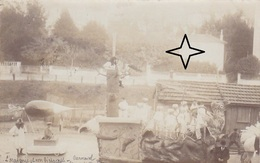 CANNES Carte Photo Du CARNAVAL De 1904. L'Araignée Et Son Dirigeable. - Cannes