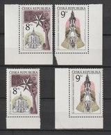 MiNr. 119 - 120 Tschechische Republik: 1996, 26. Juni. Schönheiten Der Heimat: 50 Jahre UNESCO. - Tschechische Republik