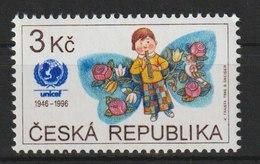 MiNr. 121 Tschechische Republik: 1996, 11. Sept. 50 Jahre Kinderhilfswerk Der Vereinten Nationen (UNICEF). - Tschechische Republik