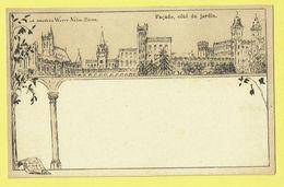 * Sint Katelijne Waver (Antwerpen - Anvers) * (E. & B.) Institut Des Ursulines, Façade Coté Du Jardin, Old, Rare, TOP - Sint-Katelijne-Waver