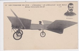 AVIATION M Blériot L'aéroplane La Libellule  , Moteur Antoinette - Airmen, Fliers