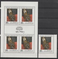MiNr. 125 Tschechische Republik: 1996, 5. Okt. Blockausgabe: 60. Geburtstag Von Václav Havel. - Tschechische Republik