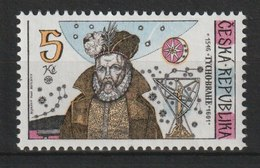 MiNr. 126 Tschechische Republik: 1996, 9. Okt. 450. Geburtstag Von Tycho Brahe. - Tschechische Republik