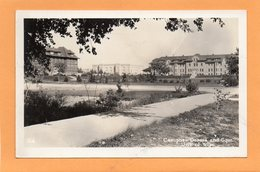 University Of Wyoming Laramie 1920 Real Photo Postcard - Laramie