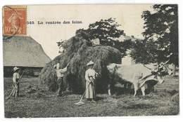 CPA 12 SAINT-GENIEZ-D'OLT N°549 LA RENTREE DES FOINS - Frankreich