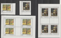 MiNr. 130 - 131  Tschechische Republik: 1996, 13. Nov. Kunstwerke Aus Der Nationalgalerie, Prag: Gemälde. - Tschechische Republik