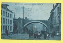 * Dison (Liège - Luik - La Wallonie) * (SBP, Nr 10) Rue Léopold Et Viaduc Du Chemin De Fer, Animée, Confiserie, TOP Rare - Dison