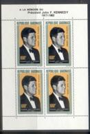 Gabon 1964 JFK Kennedy MS MUH - Gabon