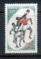Gabon 1965 African Games Soccer MUH - Gabon