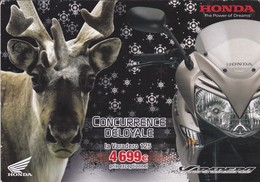 MOTO----HONDA VARADERO--125--concurrence Déloyale--( Carte COM )--voir 2 Scans - Motos