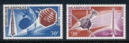 Gabon 1966 French Achievements In Space, Satellites MUH - Gabon