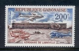 Gabon 1966 Libreville Airport MUH - Gabon