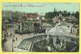 * Brussel - Bruxelles * (Editeur Valentine & Sons, Londres) Exposition, Expo 1910, Plaine Des Attractions, Kermesse - Wereldtentoonstellingen