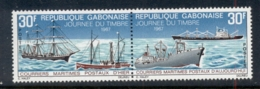 Gabon 1967 Mail Ships Pr MUH - Gabon