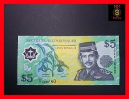 BRUNEI  5 Ringgit 2002  P. 23  POLYMER UNC - Brunei