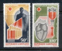 Gabon 1967 Red Cross MUH - Gabon