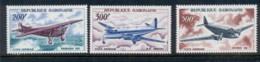 Gabon 1967 Vintage Planes MUH - Gabon