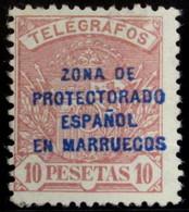 Marruecos Telégrafos 24 * - Marocco Spagnolo