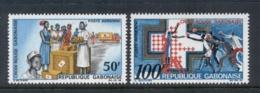 Gabon 1968 Red Cross MUH - Gabon