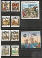 BAHAMAS  500 ème Anniversaire Découverte Amérique Par Christophe Colomb Années 1988/91**  Côte : 87,50 € - Bahama's (1973-...)