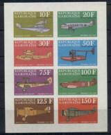 Gabon 1970 Claude Dornier, Aviation, Planes MS IMPERF MUH - Gabon