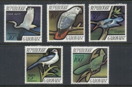 Gabon 1971 Birds MUH - Gabon