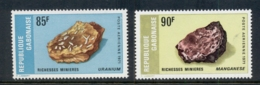 Gabon 1971 Rocks & Minerals MUH - Gabon