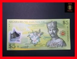 BRUNEI  5 Ringgit 2011  P. 36   POLYMER UNC - Brunei