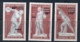 Gabon 1972 Summer Olympics Munich Opt Medal Winners MUH - Gabon
