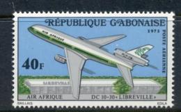 Gabon 1973 DC-10 Airplane MUH - Gabon