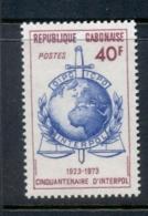 Gabon 1973 Interpol MUH - Gabon