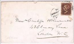 Great Britain, 1875, Manchester-London - 1840-1901 (Victoria)
