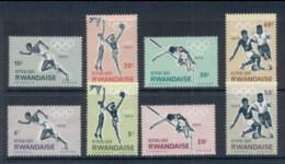 Rwanda 1964 Summer Olympics Tokyo MUH - Rwanda